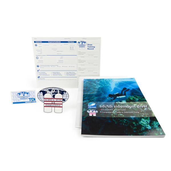 Standard SDI/TDI Sidemount Diver Kit-0