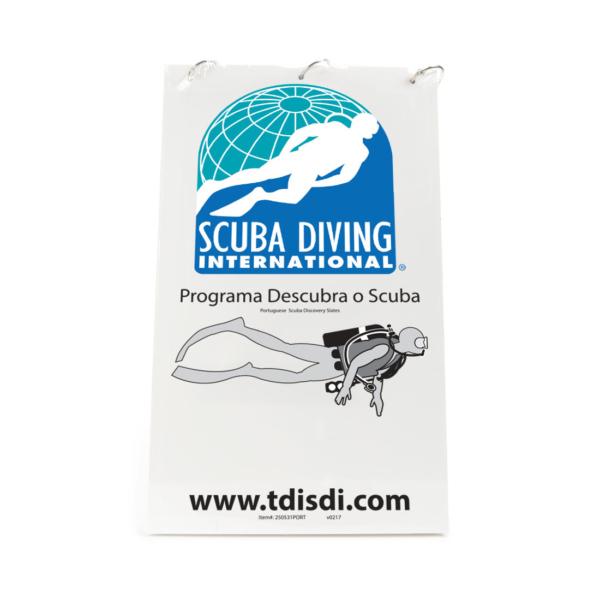 Portuguese SDI Scuba Discovery Slates-0