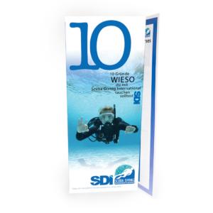 German SDI Top Ten Reasons to Dive Brochure-2106