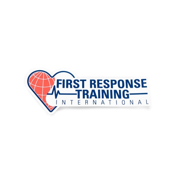 First Response Logo Sticker-0